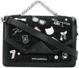 Karl Lagerfeld Klassik Pins shoulder bag