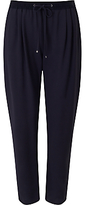 HUGO BOSS BOSS Orange Sendrah Relaxed Fit Trousers, Dark Blue