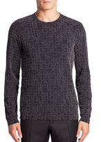 Giorgio Armani Static Print Sweater