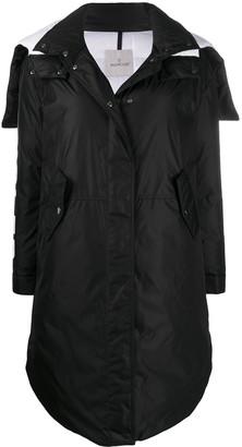 Moncler Logo-Print Coat