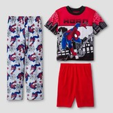 Spiderman Boys' Marvel Pajama Set - Red