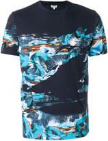 Kenzo tropical print T-shirt