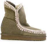 Mou concealed heel Eskimo boots