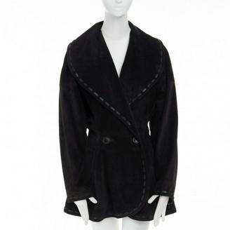 Alaia Black Suede Jackets