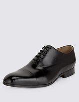 Collezione Big & Tall Extra Wide Fit Leather Shoes