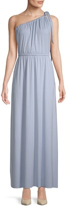 Rachel Pally Pascall One-Shoulder Maxi Dress