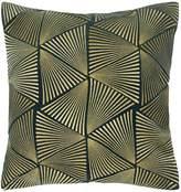 Biba Modern fan cushion teal
