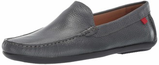 Marc Joseph New York Mens Genuine Leather Made in Brazil Broadway Loafer Olive Grainy 11.5 D(M) US