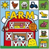"""Bed Bath & Beyond """"Lift-the-Flap Tab: Farm"""" Board Book by Roger Priddy"""