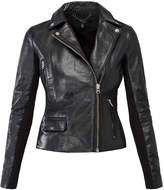 Muu Baa Muubaa Black 'Bentley' Leather Biker Jacket
