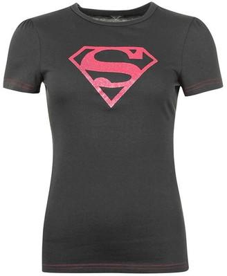 Dc Comics Superman T Shirt Ladies