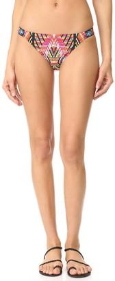 Nanette Lepore Women's Skimpy Side Shirred Hipster Bikini Swimsuit Bottom