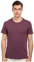 Vince Refined Slub Crew Neck T-Shirt