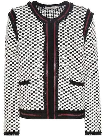 Tory Burch Petra wool-blend cardigan
