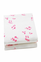 AUGGIE Pretty Pink Crib Sheet