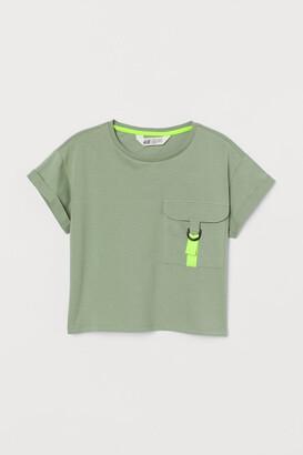 H&M Flap-pocket T-shirt