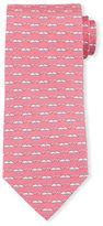 Salvatore Ferragamo Whale-Print Silk Tie