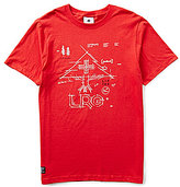 Lrg Measure Twice Cut Once Jersey Crewneck Graphic Tee
