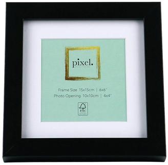 Pixel Photo Frames Pixel Black Photo Frame 15x15cm with 10x10cm Opening