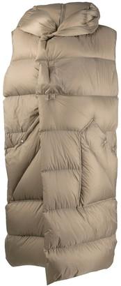 Rick Owens Padded Sleeveless Coat