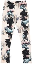 Molo Niki Floral City Stretch Jersey Leggings, Light Pink, Size 3-12