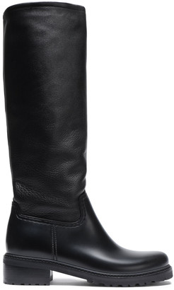 Stuart Weitzman Leather And Pvc Boots