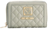 Love Moschino quilted wallet - women - Polyurethane/Metal (Other) - One Size