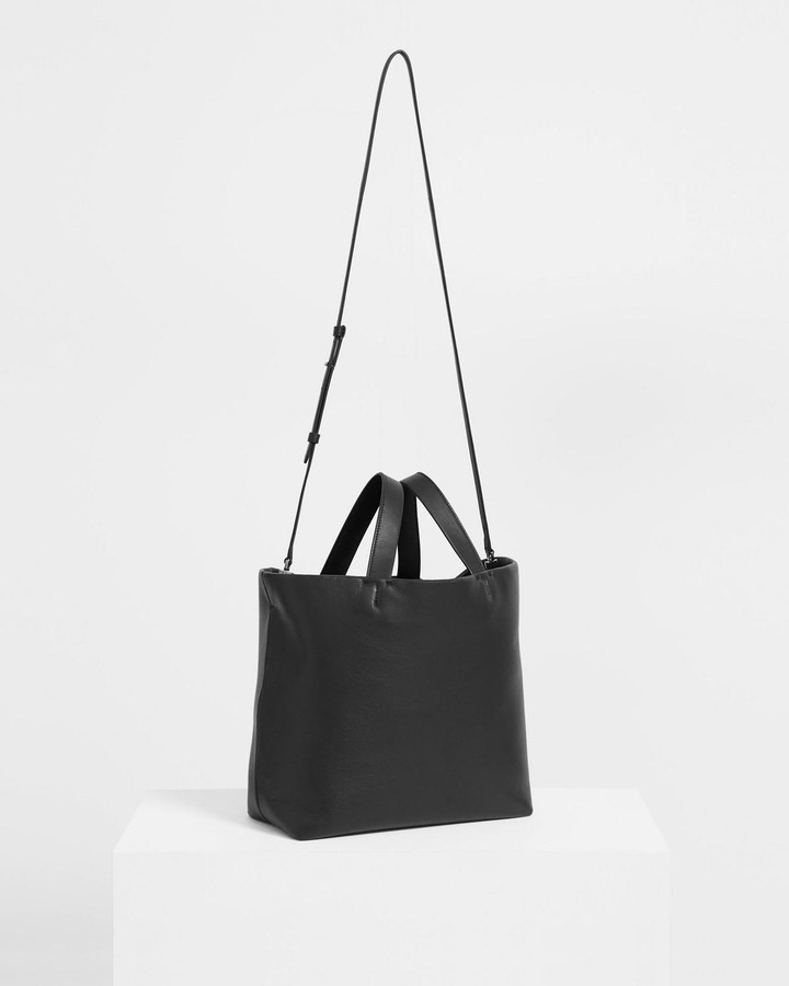 Thumbnail for your product : Theory Medium Simple Tote in Leather