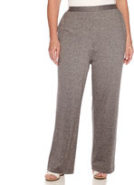 Alfred Dunner Acadia Flat-Front Pull-On Pants - Plus