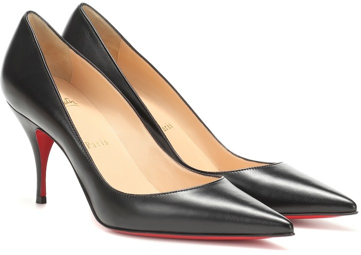 Christian Louboutin Clare 80 nappa leather pumps