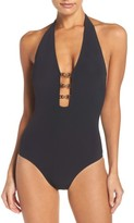 Tory Burch Women's Gemini Link One-Piece Swimsuit