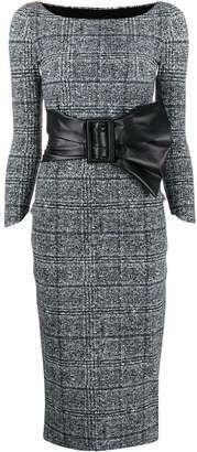 Chiara Boni Le Petite Robe Di buckle embellished dress