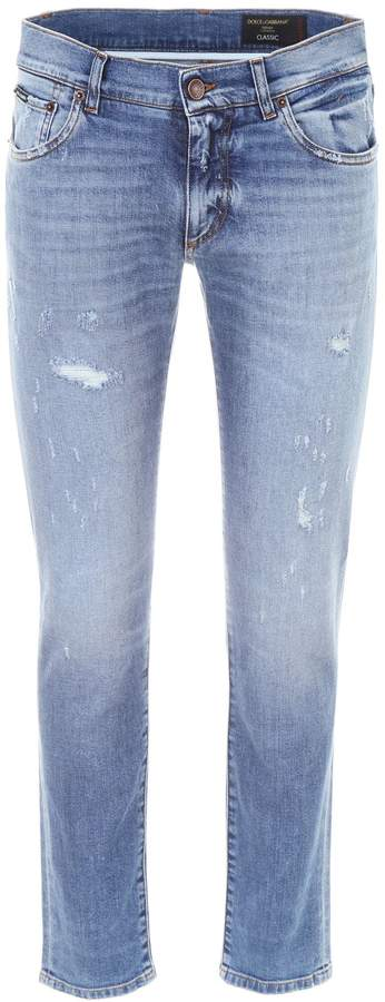 Dolce & Gabbana Stretch Jeans With Classic Fit