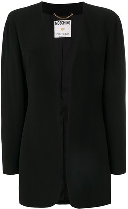 Moschino Pre-Owned fitted jacket