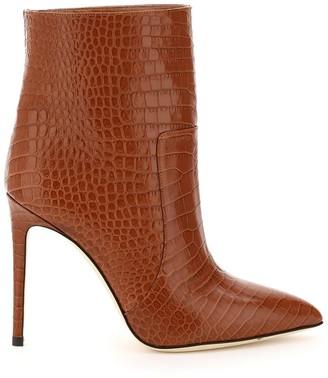 Paris Texas Embossed Stiletto Boots