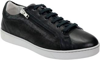 David Tate Lace-Up Zipper Sneakers - Elisa