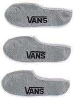 Vans Classic Super No Show Socks 3 Pack