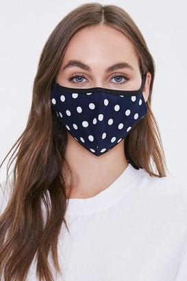 Forever 21 Polka Dot Face Mask