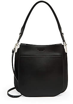 Prada Women's Margit Leather Shoulder Bag