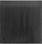 Givenchy Printed Square Silk-charmeuse Scarf 140cm X 140cm - Black