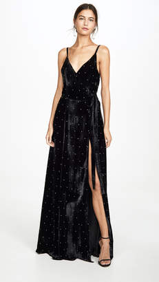 Azeeza Evie High Slit Gown