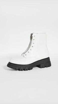 Ash Combat Boots