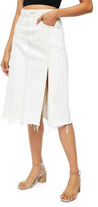 Free People Mambo A-Line Denim Skirt