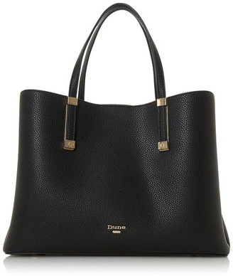 Dune London Dorrie Logo Hardware Tote Bag