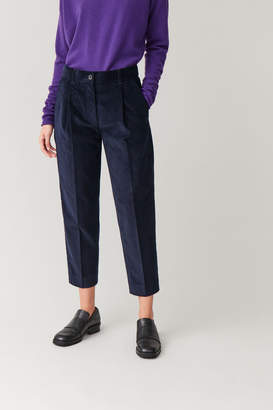 Cos STRAIGHT COTTON CORDUROY TROUSERS