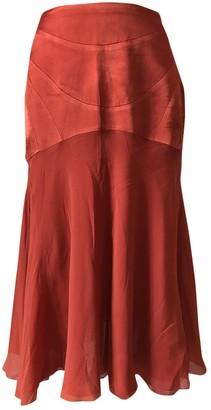 Martine Sitbon Red Skirt for Women Vintage