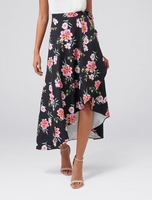 Forever New Belinda Wrap Skirt - Exotic Bloom - 4