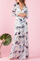 Lucca Couture Floral Wrap Dress