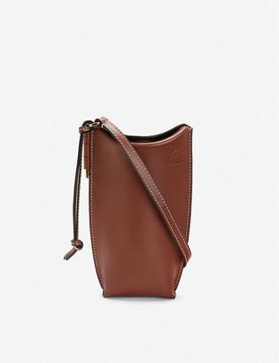 Loewe Gate Pocket leather bucket bag