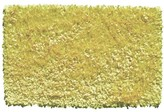 The Well Appointed House Child's Shaggy Raggy Rug in Neon Yellow-Available in Two Different Sizes